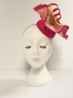 Dita Swirl Fascinator By Oana Millinery