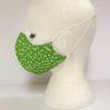 Face Mask Women Green by Oana Millinery