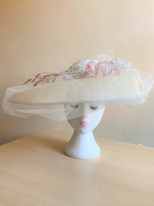 Mara Bespoke Hat made by Oana Millinery