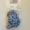 Blue Scrunchie Oana Millinery