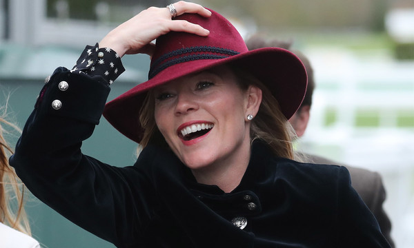 Chelternham Ladies Day Autumn Phillips